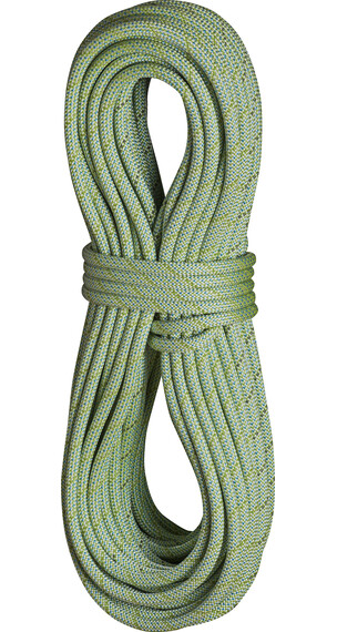 Edelrid Anniversary DT Rope 9,7 mm 80 m with Caddy lime
